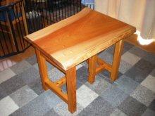 欅一枚板の2WAYテーブル(テーブル・座卓)1
