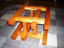 サイドテーブル・酒卓兼用脚(欅)