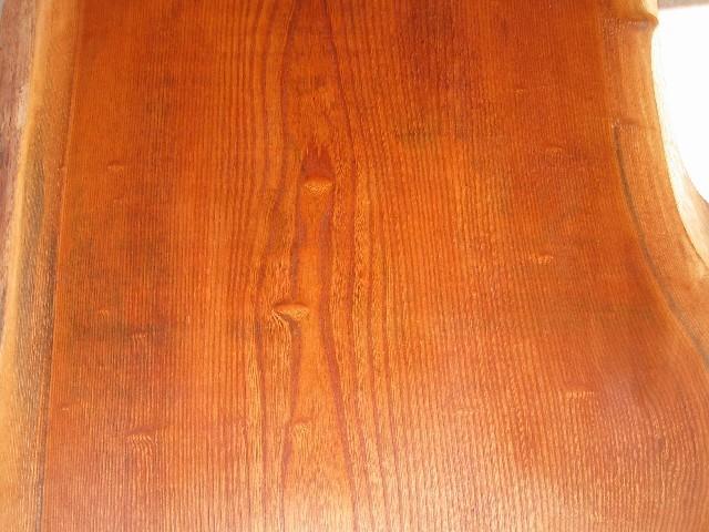 欅一枚板座卓2