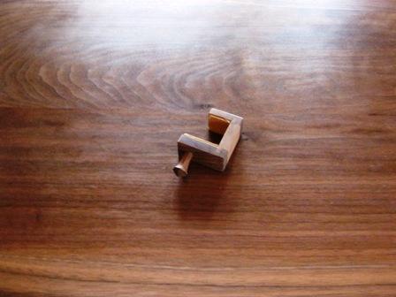 ブラックウォルナットの勉強机と椅子e