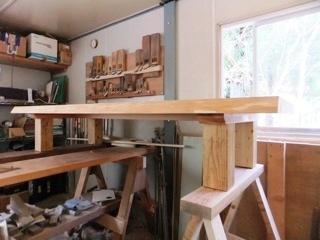 総杉造り一枚板座卓4
