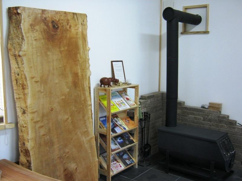 栃極上杢一枚板天板1