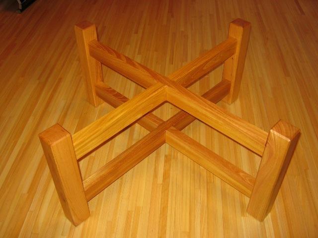 欅老木輪切りコーヒーテーブル4