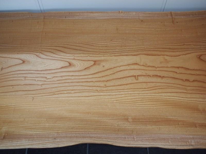欅玉杢一枚板ロングテーブル7