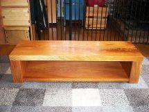 欅一枚板AVボード(総欅造り)