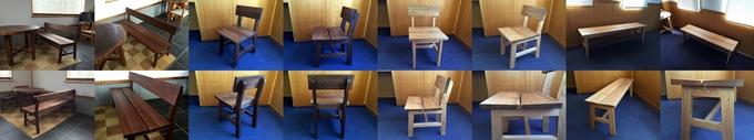 tokkoya-kaguはブラックウォルナット・胡桃(クルミ)にこだわった椅子・ベンチを製作しています!