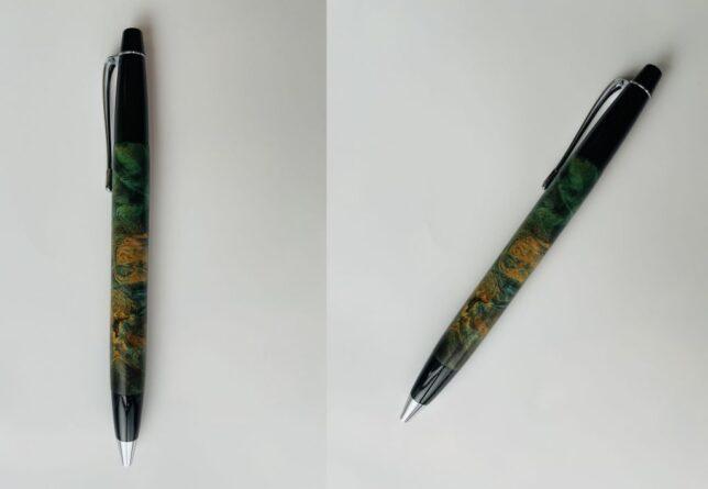 お客様のDIY作品「花梨瘤のスタビライズドウッドボールペン」~長野県・窪田様~20210629