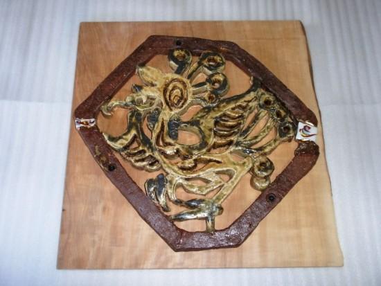 2.鳳凰陶板