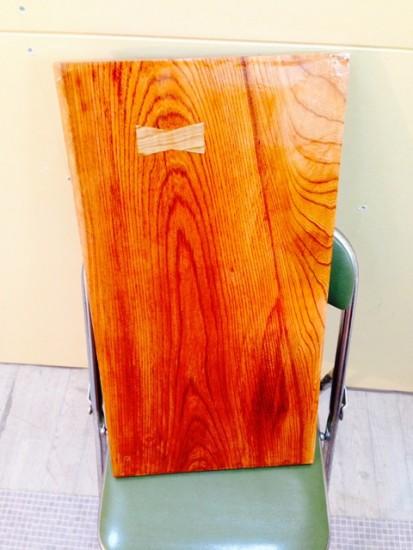 欅一枚板大型表札20150316-2
