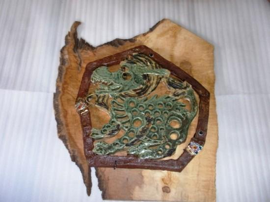 1.麒麟陶板