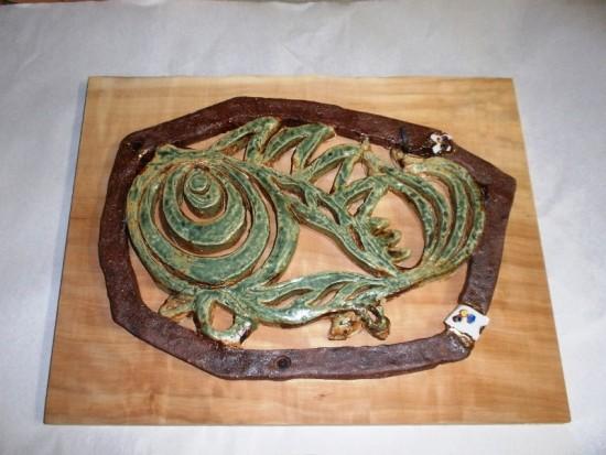 3.魚陶板