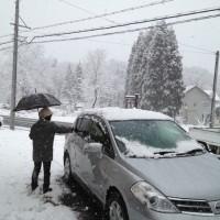 根雪になるかも?!20121127