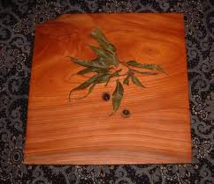 お客様の作品 欅の木皿2