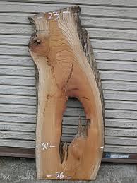 写真は当店ホームページ「商品一覧」に掲載した時の欅一枚板原木素材の写真です。