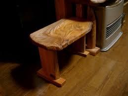 お客様の作品 ケヤキのミニテーブル