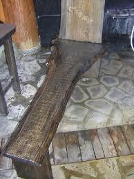 お客様の作品 長椅子と看板2