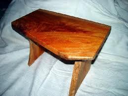 とっこやさんの欅材をご使用になりミニテーブルをご製作されました。