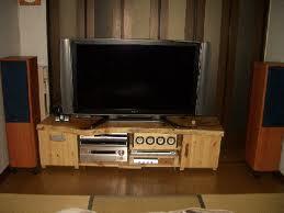 お客様の作品 欅のテレビボード