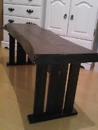 とっこやさんの栗一枚板でご製作されたダイニングテーブルです。
