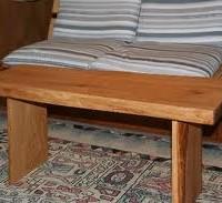 お客様の作品 栗のテーブル