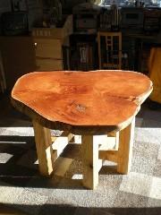 欅輪切りテーブル