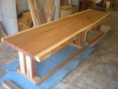 杉ダイニングテーブル(飲食店・掘りごたつ)